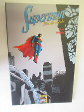 """Stuart Immonen """"Superman Fin de Siècle"""" /Collection Semic Books 2002"""