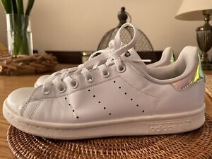 Womens ADIDAS Stan Smith White Leather Trainers Size UK 5.5