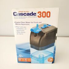 Cascade 300 Internal Aquarium Filter- Up to 10 Gallons (70 GPH) Submersible NEW