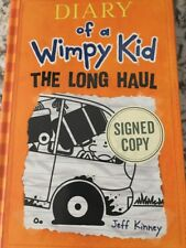 Jeff Kinney Diary of a Wimpy Kid The Long Haul AUTOGRAPHED SIGNED JSA
