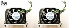 Lot of 2! Intel BXSTS100A Heatsink w/Fan for 2-Socket Server/Workstation LGA1366