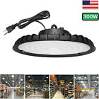 300W UFO LED High Bay Light 6000K Shop Work Warehouse Industrial Lighting Lamp