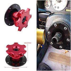 Aluminium Car Steering Wheel Quick Release HUB Racing Adapter Snap Off Boss Kit