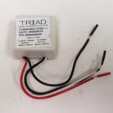 Triad Magnetics TLM4036DC-0700, LED Driver, Power Supply 26W, 2-36V, 700mA