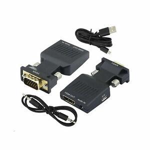 VGA to HDMI Adapter (USB Powered)