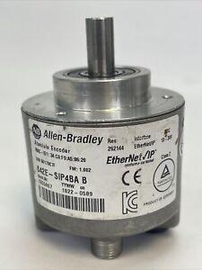 ALLEN BRADLEY 842E-SIP4BA ETHERNET IP ABSOLUTE ENCODER FW 1.002 10-30VDC