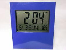 Gran Reloj Digital, montaje en pared, Temperatura, calendario, Alarma Dormitorio Oficina