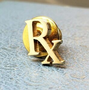 James Avery Retired 14k RX Pharmacy Pharmaceuticals Doctor Nurse Pin/Tac