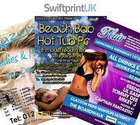 Leaflets / Flyers Printed Full Colour - 170gsm Gloss A3 / A4 / A5 / A6 / DL
