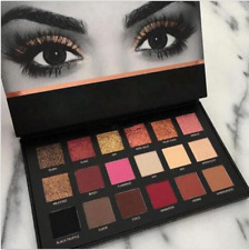 HOT SALE Huda Beauty Rose Gold Edition Textured Eye Shadows Palette 18 Colours