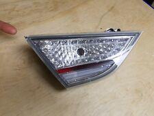 11-15 Hyundai Sonata Hybrid Inner Tail Light Left OEM LH Driver Chipped