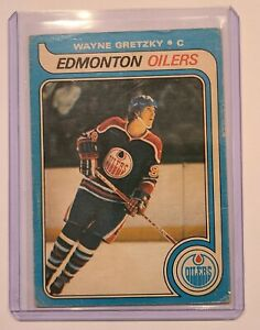 1979-80 O-PEE-CHEE OPC Wayne Gretzky Rookie Card *Ungraded PSA 1-2* INVEST
