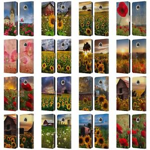CELEBRATE LIFE GALLERY FLORALS LEATHER BOOK WALLET CASE FOR MOTOROLA PHONES