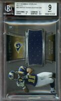 2013 bowman sterling relics #bsjrrta TAVON AUSTIN rookie BGS 9 (9.5 9 9 8.5)