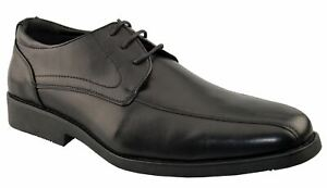 Mens Formal Lace Up Office Work School Smart Casual Comfort Derby Shoes Size
