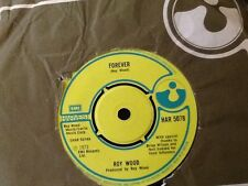 ROY WOOD . FOREVER . / MUSIC TO COMMIT SUICIDE BY  . U.K. HIT . 1973 GLAM ROCK