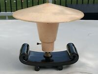 Vintage 50s 60s Fiberglass Cone Lamp Shade Mid Century Modern Atomic