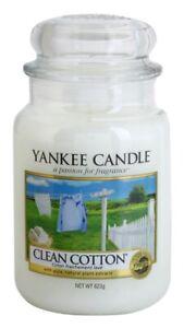 Yankee Candle 623g - Clean Cotton  - NEU !