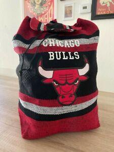 Chicago Bulls Backpack Woven Tapestry Mexico NBA Jordan BRAND NEW