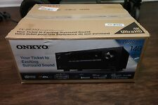 Onkyo TX-SR353 5.1 Ch 4K Ultra HD and 3D Pass-Through Receiver AS IS FOR PARTS
