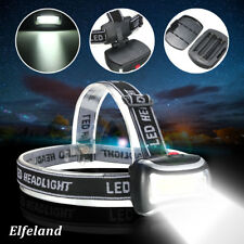 2000LM Rechargeable LED Headlamp Headlight Flashlight Head Light Lamp Camping