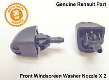 Renault Trafic Laguna Washer Jets Jet Spray Nozzle Front Windscreen Genuine X2
