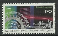 WEST GERMANY MNH STAMP SET DEUTSCHE BUNDESPOST PLANT + MACHINE 1992 SG 2487