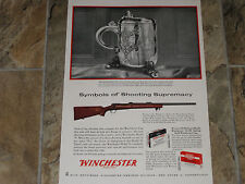 1959 WINCHESTER MODEL  70  TARGET RIFLES AD