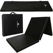 New listing LESMILE Gymnastic Mats Waterproof PU Leather Thick Folding Exercise Gym Mats ...