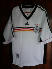 GERMANY 1998 2000 ADIDAS HOME FOOTBALL SOCCER SHIRT JERSEY TRIKOT MEDIUM