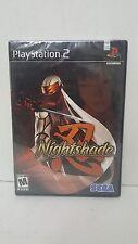 NightShade Sony PS2 Brand New Factory Sealed Sega Rare  Free S&H NIB 2003