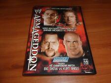 WWE - Armageddon 2002 (DVD, 2003) RARE OOP
