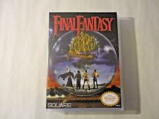 Final Fantasy - NES Custom Art Case/Box (***No Game***)