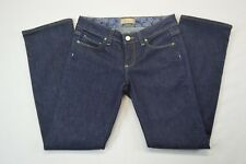 "Paige Petite Womens Blue Denim Boot Cut Low Rise Jeans size 25 (Actual 26"")"