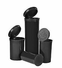 Black Vials - 19 DRAM Pop Top Bottle - Smell Proof Containers-225/case
