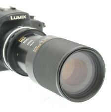 M43 MICRO 4/3 Fit 80-210mm (160-420mm) TELE LENS PANASONIC LUMIX- OLYMPUS PEN