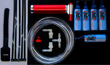 Nitrous Oxide Injection Boost Kit NOS Kart mini Bike racing + 5 20cc N20 Bottles