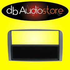 MA/291 Mascherina Adattatore Autoradio 1 2 DIN per Alfa GT Black Line Antracite