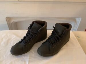 Mens Adidas Stan Smith Mid Trainers / boots Size 10.5 New No Box
