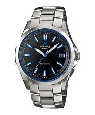 Casio Oceanus Atomic 45.7mm Silver Titanium Case Silver Titanium Bracelet Band Wristwatch - (OCW-S100-1AJF)