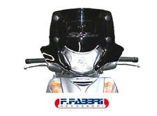 2353/DS Parabrezza 515x265 Fume' Scuro + Attacchi Honda SH 300 2009 2010