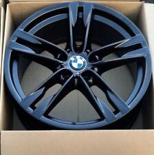 "20"" Bmw 650i 640i 550i 535i 373 M Factory OEM Wheel Black Rim REAR 20 71254"