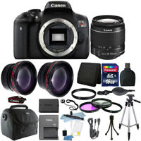 Canon EOS Rebel T6 DSLR Camera + EF-S 18-55mm IS II Lens Kit + 16GB Bundle