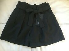 SUBLIME SHORT A PINCE FEMME TRES CHIC NOIR + CEINTURE TAILLE S MADE IN ITALIE