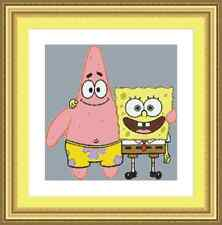 Spongebob Squarepants Patrick Star Cross Stitch Kit