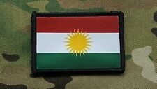 Peshmerga Kurdistan Flag Special Forces Kurdish l Anti-terrorist Morale Patch