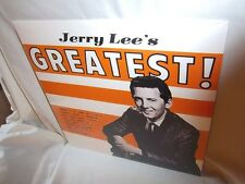 JERRY LEE LEWIS-GREATEST!-RUMBLE RUM2011023 NEW SEALED EU VINYL RECORD ALBUM LP