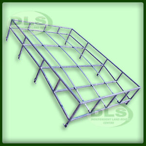 Galvanised Expedition Style Contoured Roof Rack Land Rover Series SWB (DA1091)