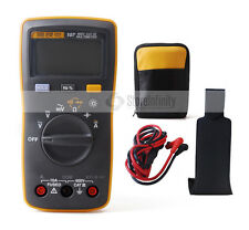 NEW Fluke 107 Handheld Digital Multimeter+Magnetic Pendant+Soft Case Bag Holster