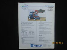 UTB UNIVERSAL Tractor U-640  U-640DTC U-550DTC Brochure Vintage Factory Original
